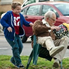 Bad Grandpa Defies Gravity
