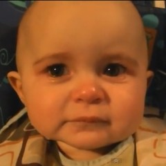 Baby Gets Emotional When Hearing Mother Sing