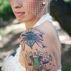 12 Elegant Brides With Massive Tattoos