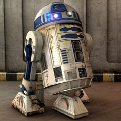 J.J. Abrams Spotted On Set With R2-D2