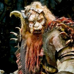 Awesome Practical Orc Who Was Painted Over In The Next Hobbit