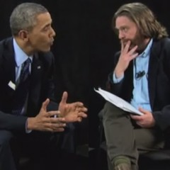 Zach Galifianakis Insults President Obama to His Face