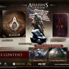 Check Out Assassin's Creed 3 Collector's Editions
