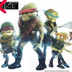 Grown Up Alien Ninja Turtles?