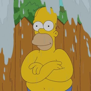 Homer Simpson Completes The ALS Ice Bucket Challenge