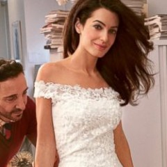 Get Your First Look at Amal Alamuddin's Wedding Dress