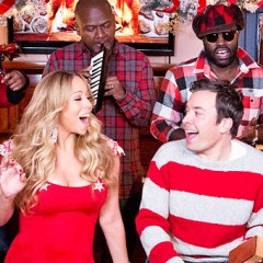 Mariah Carey Performs With Jimmy Fallon & The Roots