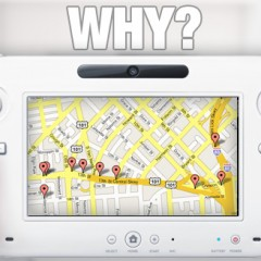Why On Earth Does Wii U Have Google Maps?