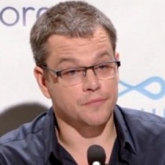 Matt Damon Goes On Strike