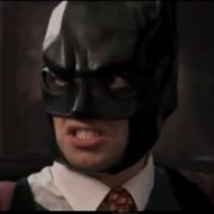 Angry Batman Appearing in Classic Movie Scenes