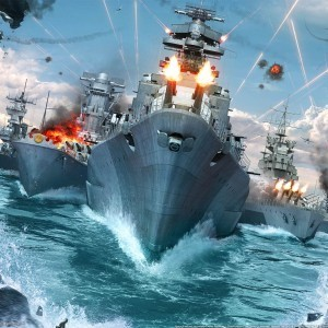 Check Out This Ridiculous New Trailer For 'World Of Warships'