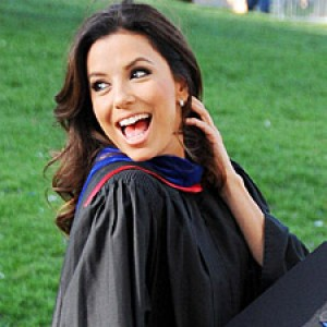 Eva Longoria Graduates With Master's Degree