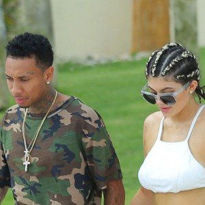 Kylie Jenner Spotted Showing Serious PDA With Tyga
