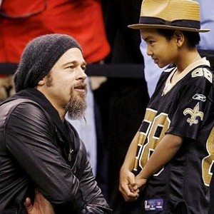 Brad Pitt Let His Son Do What?