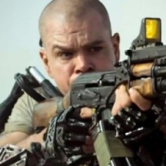 Matt Damon Shoots His Way Out of a New 'Elysium' Clip