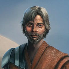 'Star Wars: Episode VII' Master Luke Skywalker Portrait