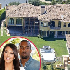 Check Out Kim and Kanye's New Mansion