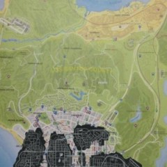 Grand Theft Auto V Map Leaked, Details Massive World