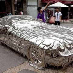 Skyscraper Literally Melts A Car In England