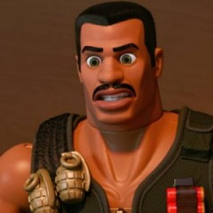 First look at Carl Weathers' Combat Carl in Toy Story of Terror